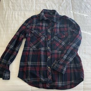 Forever 21 red and blue flannel